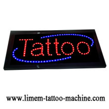 Signe de tatouage numérique Tattoo LED noir