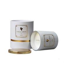 Bougies cadeaux décoratifs personnalisés dans un pot en verre avec n'importe quelle couleur