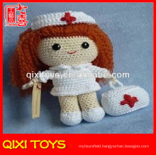 handmade crochet knitting doll