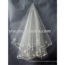 2010 neuer stilvoller Hochzeitsschleier! Nein Nein AN2102