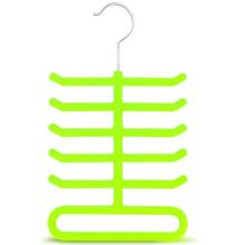 Non Slip Velvet Flocked Scarf Hanger