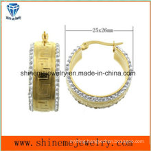 High Quality Best Price Jewelry Stainless Steel Jewelry Earring (ERS6952)