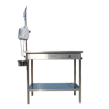 Pet products constant-temperature 304 Stainless steel vet operation surgical table veterinary