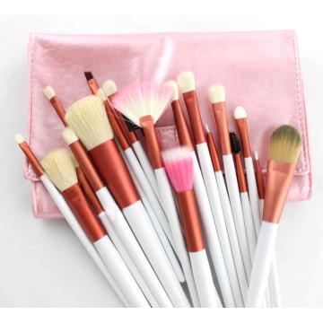 Hot Sale 20 Pieces Pink Color Makeup Brush