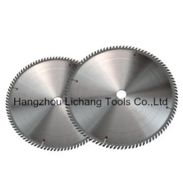 Lame de scie circulaire Tct pour la coupe de bois / aluminium / métal