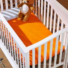 Super Macio 100% Algodão Orgânico Ucha ou Criança Folha Set, Folha de Cama de Bebê