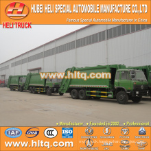 DONGFENG 6x4 16/20 m3 heavy duty waste collector truck diesel engine 210hp with pressing mechanism
