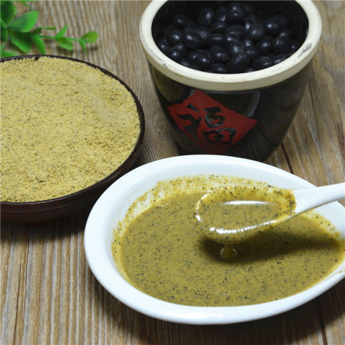 100% of the natural black soybean meal