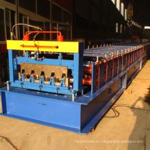 CE / ISO certificado russia typeH75 piso decking laminado en frío equipo de formación
