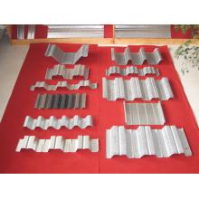 Amostra da máquina formadora de rolo de plataforma metálica
