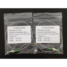Tresse de collimateur d'optique de fibre avec des connecteurs de FC / APC 0.9mm