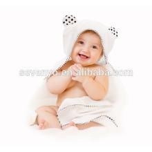 100% Bio Bambus mit Kapuze Baby Badetuch Doppel dicke weiche warme hypoallergen Baby Handtuch für Säugling, Neugeborene, junge Mädchen Geschenk