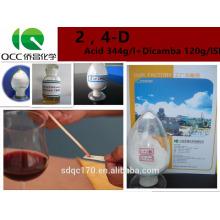 Herbicida Ácido 2,4-D 98% TC 680g / l 720g / l 860g / l Nº CAS: 94-75-7