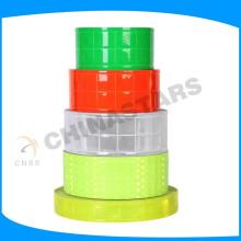 fluorescent yellow pvc micro prism reflective tape