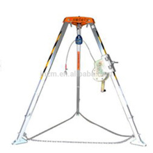 Best Sale Confined Space Fallen Protection Safety Rescue Tripod with Lifting Hand Winch