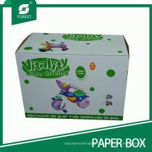 Политуры Рифленые картонные коробки для детей