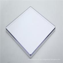 Paneles de pared de hoja de policarbonato de 10 mm al aire libre
