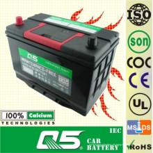 Carga livre da manutenção de JIS-95D31 12V80AH para a bateria de carro