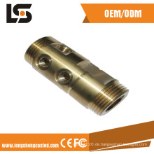 Motorrad-Teile fertigten CNC maschinell bearbeitete Messinginstallations-Motorrad-Teile besonders an