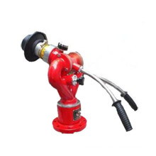 Fire fighting manual control mobile foam monitor