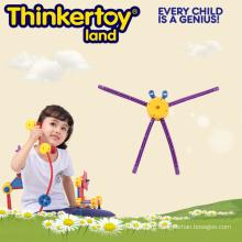 2015 Горячие продажи пластиковые образовательные игрушки Assamble для детей