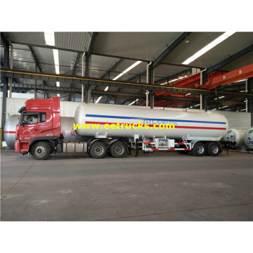 Remorques de transport de GPL ASME de 25 tonnes