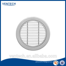 Round air vent bar grille