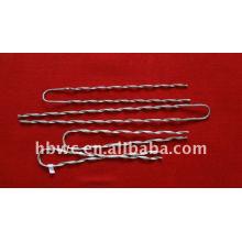 Rod d'armure préformé par acier galvanisé par Weichuang pour ADSS / OPGW