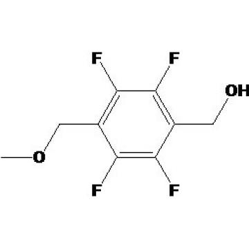 4-Метоксиметил-2, 3, 5, 6-тетрафторбензиловый спирт Номер CAS: 83282-91-1