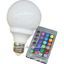 Huerler 4w led light avec contrôleur rgb 110v 220v 100-240V epistar