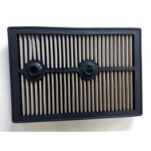 Replacement Panel Car Filtro de ar com aço inoxidável ou vermelho