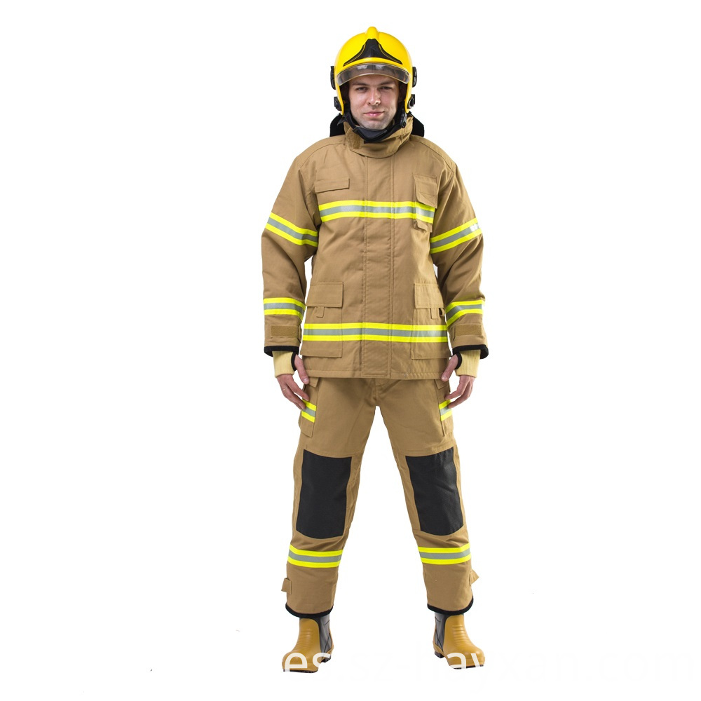Fire Resistant Fireman Clothing with Reflective Tape