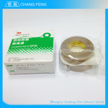 2015 venta caliente aislamiento eléctrico alta tensión alta temperatura ptfe recubierto de cinta adhesiva