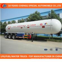 Venda de Fábrica Asme Certificado 50cbm Tri-Eixo Semi-Trailer LPG