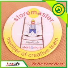 Prominent Team Character Tin Button Badge in High Quality