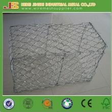 Panier de gabion hexagonale galvanisé chaud et chaud à partir de l'usine