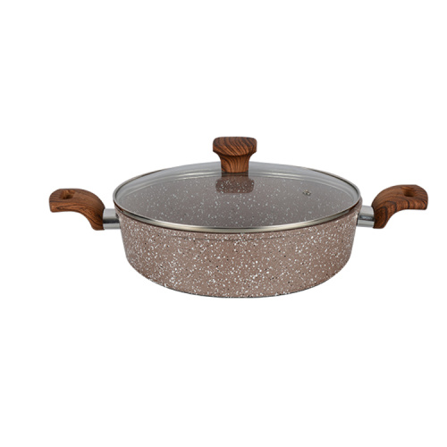 aluminium home cooking forged fry pan