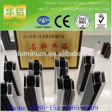 Shandong Linqu perfil de alumínio de alta qualidade para janelas, perfil de extrusão, perfil de ruptura térmica, anodize perfil