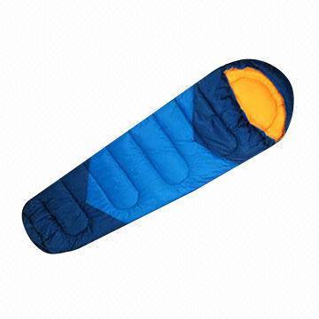 190T Polyester sovsäck med TC foder och Polyester ihålig