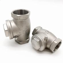 Válvula de retenção de giro roscada para água