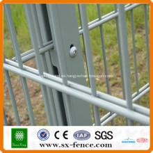 ISO9001 fabricante profesional Anping shunxing fábrica soldada doble valla de alambre