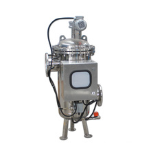 150 Micron Automatic Back Flushing Water Filter for Oil