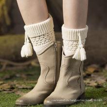 Дешевые мода шерстяной войлок ручной вязки гетры фабрики Оптовая продаж (принимаем заказ)