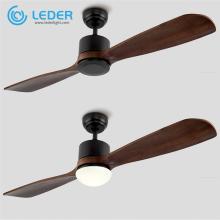 LEDER Best Ventilador de techo decorativo