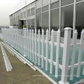 Fábrica decorativa de chainlink del panel de la cerca de aluminio labrada