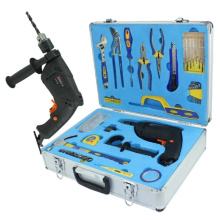 Caja de herramientas personalizada de la mano de la aleación de aluminio (sin las herramientas)