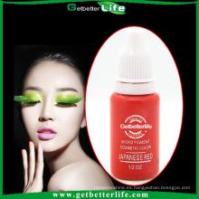 getbetterlife 2015 Micro de maquillaje permanente cejas tinta/tatuaje ceja tinta y cejas tatuaje de tinta color