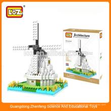 Алмазные блоки ветряной мельницы, строительные блоки, мегаблоки