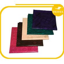 Nigeria Design Haute Qualité Fait à la Main Bazin Riche Coton Guinée Brocade Tissu Achats En Ligne