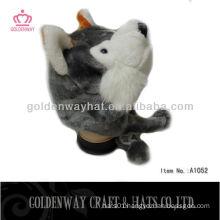 Fox winter animal hats caps